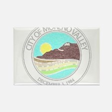 Vintage Moreno Valley Rectangle Magnet