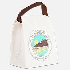 Vintage Moreno Valley Canvas Lunch Bag