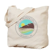Vintage Moreno Valley Tote Bag