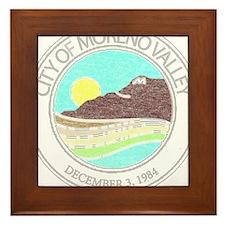 Vintage Moreno Valley Framed Tile