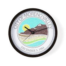 Vintage Moreno Valley Wall Clock