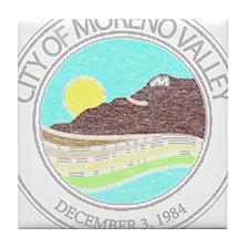 Vintage Moreno Valley Tile Coaster