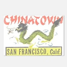 Vintage Chinatown Postcards (Package of 8)