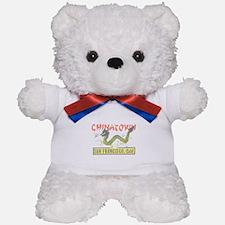 Vintage Chinatown Teddy Bear