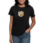Flaming Gryphon  Women's Dark T-Shirt