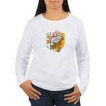 Flaming Gryphon Women's Long Sleeve T-Shirt