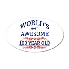 World's Most Awesome 100 Year Old Wall Decal