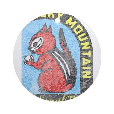 Rocky Mountian Park Ornament (Round)