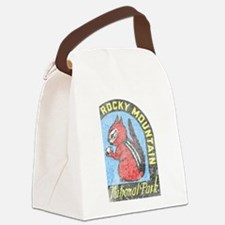 Rocky Mountian Park Canvas Lunch Bag
