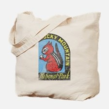 Rocky Mountian Park Tote Bag