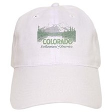 Vintage Colorado Mountains Baseball Baseball Cap