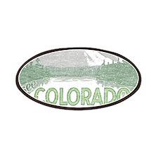 Vintage Colorado Mountains Patches