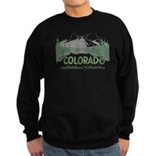 Vintage Colorado Mountains Sweatshirt