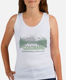 Vintage Colorado Mountains Tank Top