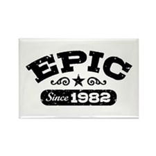 Epic Since 1982 Rectangle Magnet