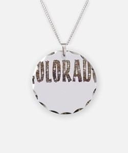 Colorado Stars and Coffee Necklace