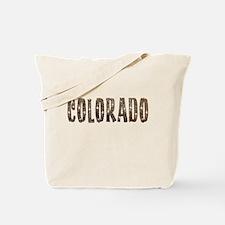 Colorado Stars and Coffee Tote Bag