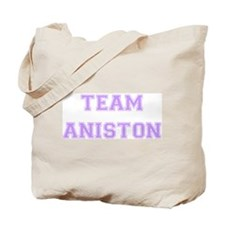 Team Aniston Lavender Tote Bag