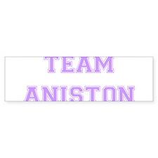 Team Aniston Lavender Bumper Bumper Sticker