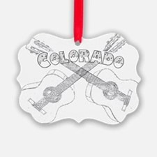 Vintage Colorado Guitars Ornament