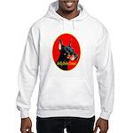 Jolly Dobe Xmas Hooded Sweatshirt