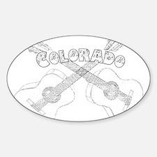 Vintage Colorado Guitars Decal