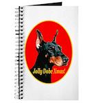 Jolly Dobe Xmas Journal