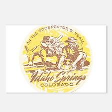 Faded Idaho Springs Colorado Postcards (Package of