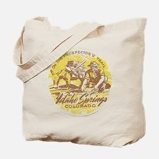 Faded Idaho Springs Colorado Tote Bag