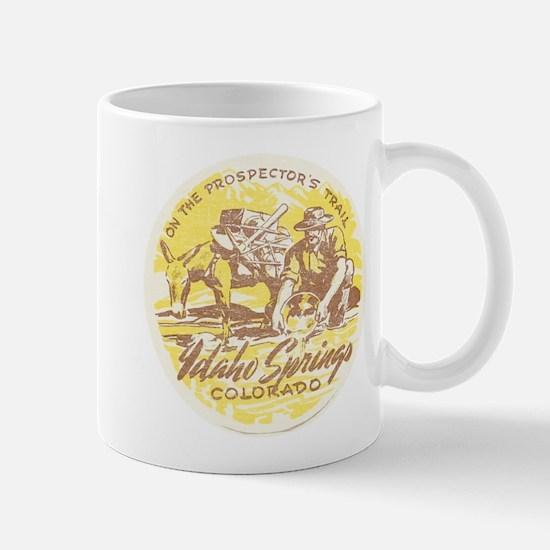 Faded Idaho Springs Colorado Mug