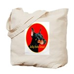Jolly Dobe Xmas Tote Bag