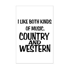 Country & Western Posters