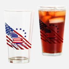Freedom eagle 4 Drinking Glass