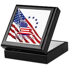 Freedom eagle 4 Keepsake Box