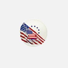 Freedom eagle 4 Mini Button