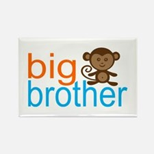 Monkey Big Brother Rectangle Magnet