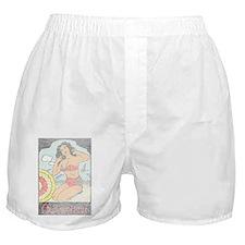 Vintage Connecticut Pinup Boxer Shorts