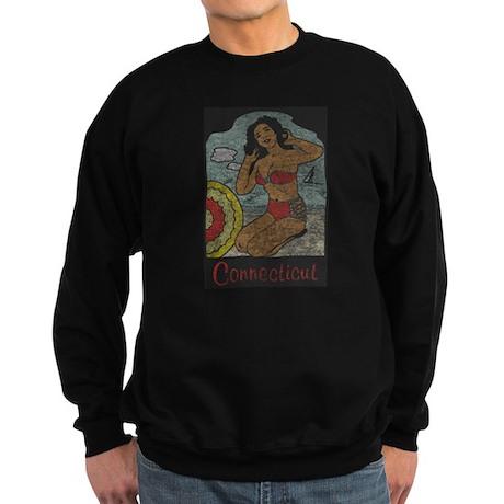 Vintage Connecticut Pinup Sweatshirt