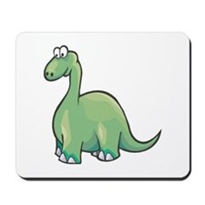 Cute Brontosaurus Mousepad