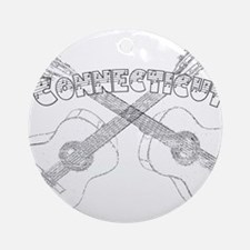 Connecticut Guitars Ornament (Round)