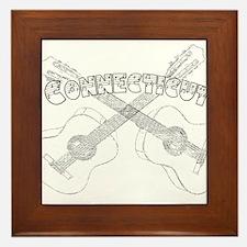 Connecticut Guitars Framed Tile