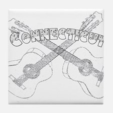 Connecticut Guitars Tile Coaster