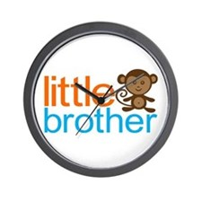 Monkey Little Brother Wall Clock