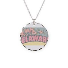 Vintage Delaware Flowers Necklace