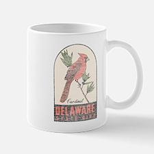 Vintage Delaware Cardinal Mug