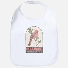Vintage Delaware Cardinal Bib