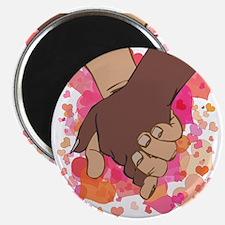 HOLDING HANDS 2 Magnet