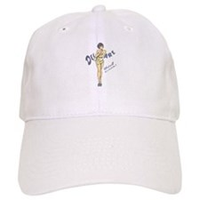 Vintage Delaware Pinup Baseball Baseball Cap