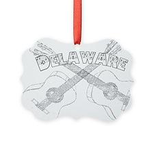 Vintage Delaware Guitars Ornament