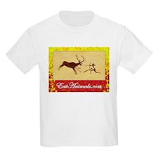 EatAnimals.com Kids T-Shirt